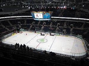 2014 IIHF World Championship - Image: Minsk Arena inside 1