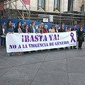 Minuto de silencio por el asesinato de una mujer y su hijo en Alcobendas, víctimas de la violencia de género (01).jpg