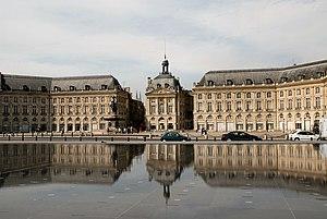 Miroir d'eau - The Miroir d'eau in Bordeaux