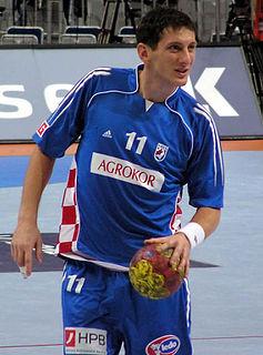 Croatian handball player