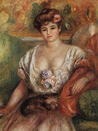 Misia Sert - Misia Sert, by Pierre-Auguste Renoir