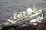 "Missile range instrumentation ship ""Marshal Nedelin"" in 1989 (3).jpeg"