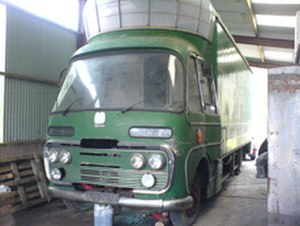 Plaxton - Plaxton Panorama cab on a Bedford SB3 chassis mobile cinema unit