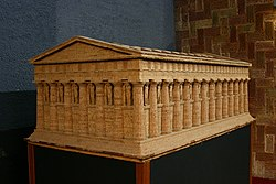Templo De Zeus Ol 237 Mpico Agrigento Wikip 233 Dia A
