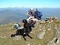 Moel Lefn Summit Cairn - geograph.org.uk - 257690.jpg