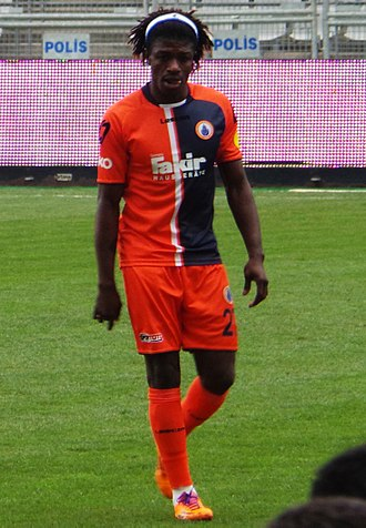 Mohamed Bangura - Bangura playing in the Turkish League, March 2014.
