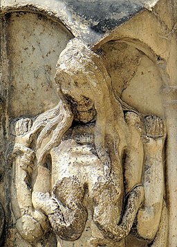 Moissac - Abbaye Saint-Pierre - Porche de l'église -3