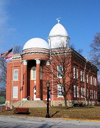 Moniteau County, Missouri - Image: Moniteau County Courthouse
