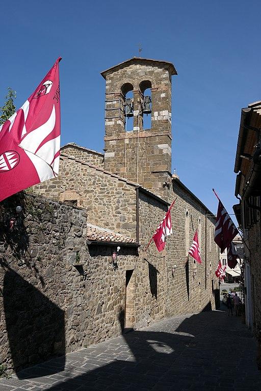 Campanile a vela della Chiesa di Sant'Egidio a Montalcino