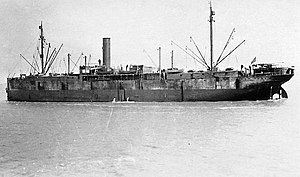 USAT Montanan at Saint-Nazaire, July 1917