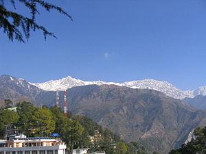 Dhauladhar - Dhauladhar from Dharamsala