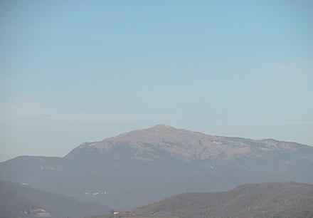 Monte Matajur dai Colli Orientali del Friuli