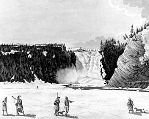 Montmorency Falls - Image: Montmorency Falls