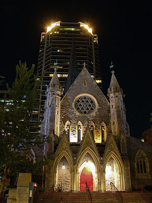 Montreal, Christ Church Cathedral