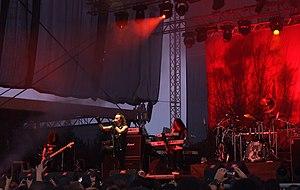 Moonspell - Moonspell at Kavarna Rock Fest 2011.