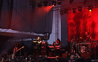 Moonspell - Moonspell at Kavarna Rock Fest 2011.