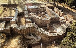 Archaeological excavations at Morodvis