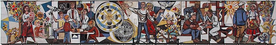 Mosaik Alexanderstr 9 (Mitte) Unser Leben%26Walter Womacka%2619642