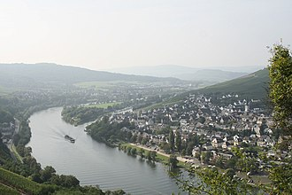 Moselle - The Moselle near Cochem, Germany