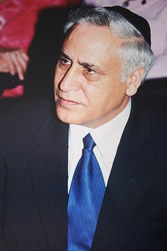 Moshe Katsav - Image: Moshe Katsav 2, by Amir Gilad