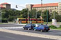 Most, centrum, Tramvaj typu Škoda Astra.JPG