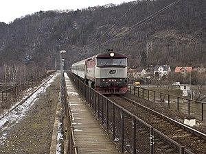Branický most - The bridge deck