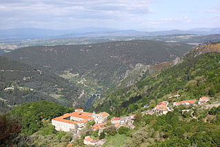 Ribas de Sil Municipality in the province of Lugo, Spain