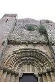 Mosteiro de San Lourenzo de Carboeiro - Monasterio de San Lorenzo de Carboeiro - Monastery of Carboeiro - Exterior - 03 - Porta da nave central.jpg