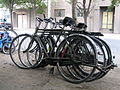 Motorcyle and Bicyle - old - Fazl st - Nishapur 4.JPG