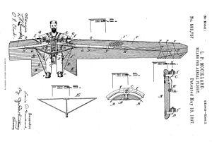 Louis Pierre Mouillard - Image: Mouillard patent 2