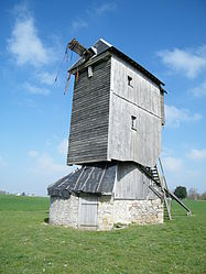 The windmill in Coinces