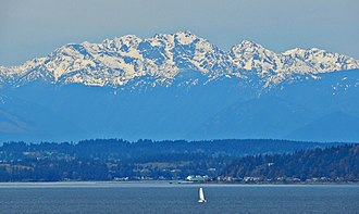 North American Cordillera - Olympic Mountains in Washington