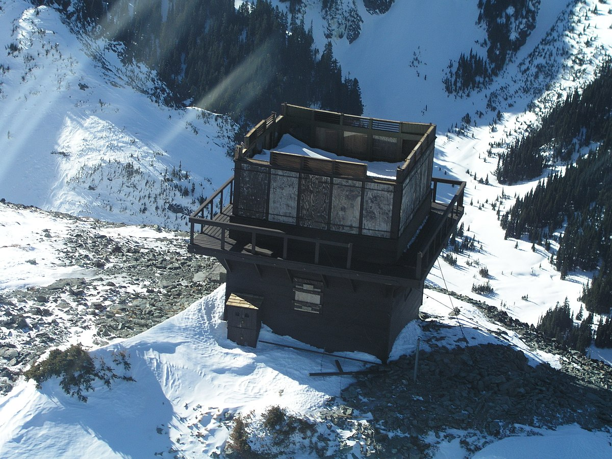 Mount_Fremont_Fire_Lookout on One Story House Plan