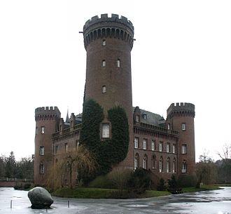 Ernst Friedrich Zwirner - Keep of Castle Moyland