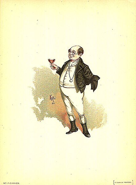 File:Mr Pickwick 1889 Dickens The Pickwick Papers character by Kyd (Joseph Clayton Clarke).jpg