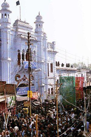 Azadari in Lucknow - Muharram procession in Lucknow, India, Jan 2007.