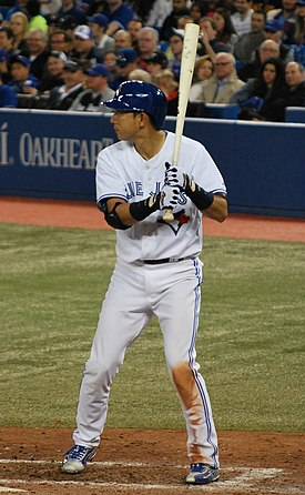 Munenori Kawasaki on April 15, 2013 (2).jpg