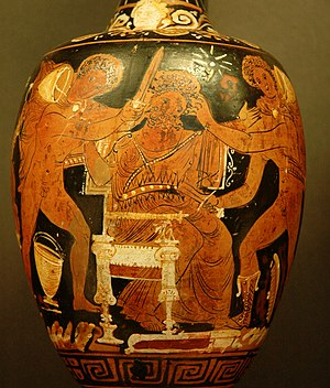 Aegisthus - Image: Murder Aegisthus Louvre K320