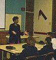 Muriel Howard Speaking at MOOG Leadership Weekend, Elma, NY, 2000.jpg