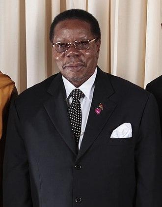 President of Malawi - Image: Mutharika at Met
