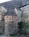Nürnberg Streichwehr am 5eckigen Turm 1.jpg