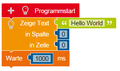NEPO program Hello World.png
