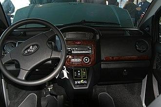 ZENN - Image: NEV Green ZENN Dash 0249