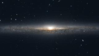 spiral galaxy in the constellation Virgo
