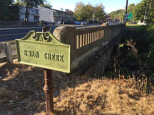 New Jersey Register of Historic Places - Image: NJ Route 165 Bridge over Swan Creek