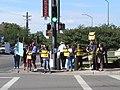 NM Unions Protest John McCain at Hotel Albuquerque (2672897613).jpg