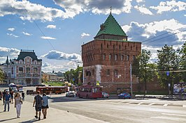 Dmitrievskaya Tower and Minin and Pozharsky Square