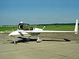 John Denver - A Long-EZ two-seater canard plane