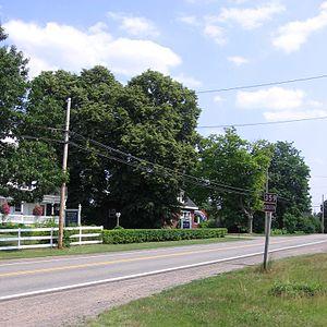 Nova Scotia Route 359 - NS Route 359 in Centreville