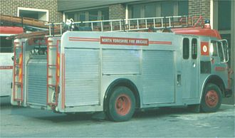 History of fire brigades in the United Kingdom - Image: NYFB